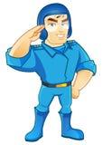 Caráter da força aérea Fotografia de Stock Royalty Free