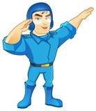 Caráter da força aérea Imagem de Stock Royalty Free
