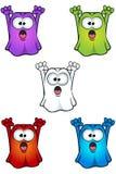 Caráter de Ghost dos desenhos animados Fotos de Stock Royalty Free
