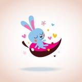 Caráter do coelho Imagem de Stock Royalty Free