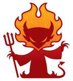 Caráter do diabo Foto de Stock