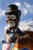 Caráter do flutuador do carnaval Fotografia de Stock
