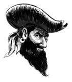 Caráter do pirata ilustração do vetor