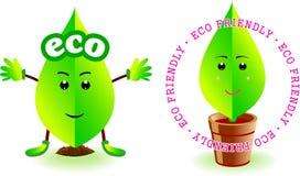 Caráter ecológico Ilustração Royalty Free