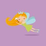 caráter feericamente pequeno bonito ilustração royalty free