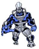 Caráter ilustrado banda desenhada do monstro do bandido da criatura Fotografia de Stock