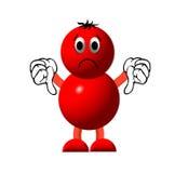 Caráter vermelho ilustração do vetor