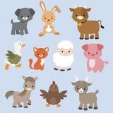 Caráteres animais Foto de Stock Royalty Free