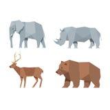 Caráteres animais ajustados Foto de Stock