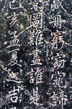 Caráteres chineses Imagens de Stock