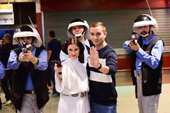 Caráteres de Star Wars imagem de stock royalty free
