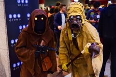 Caráteres de Star Wars imagens de stock royalty free