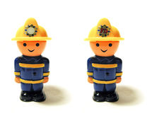 Caráteres do brinquedo Fotos de Stock Royalty Free