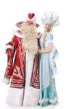 Caráteres do Natal do russo Imagem de Stock