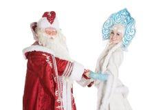 Caráteres do Natal do russo Fotografia de Stock Royalty Free