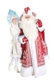Caráteres do Natal do russo Imagem de Stock Royalty Free