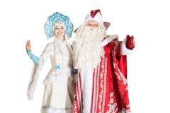 Caráteres do Natal do russo Fotos de Stock
