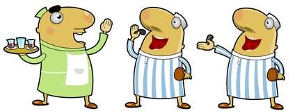 Caráteres do Oriente Médio Imagens de Stock