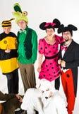Caráteres do teatro Imagem de Stock