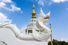 Caráteres literários Tailândia no templo do thi do sed da tanga de Wat no khon Fotografia de Stock