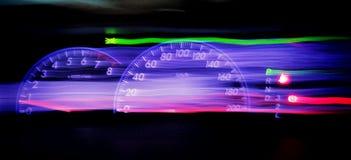 Car†‹szybkościomierz obraz stock
