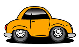 Car. Simply car for different designs Royalty Free Stock Images