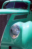 Car_12. Green Car in CA Royalty Free Stock Images