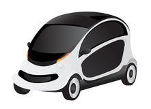 Car. Vector detailed illustration of a Small smart Car. Also in vector EPS8 format Royalty Free Stock Image