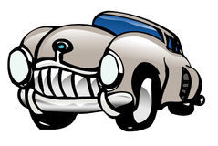 Car. Toon style old fashioned Stock Images