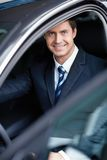 In the car Royalty Free Stock Photography