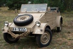 Car. Kubelwagen - German military car from war Royalty Free Stock Images