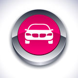 Car 3d button. Stock Photography
