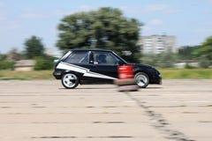 Car 51 on race. Colbakino Fest Royalty Free Stock Photos