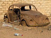 CAR. SINAI, WRECK, OLD CAR, DISORDER, DISABLED VEHICLE Stock Photos
