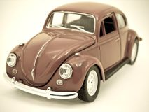 Car. Toy  car retro styled image Royalty Free Stock Images