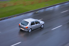 Car. Movement of car on the road Royalty Free Stock Photography