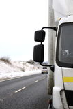 Lorry. Image of a lorrys parked on the roadside royalty free stock images
