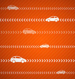 Car abstract background with stripes Royalty Free Stock Photography