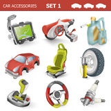 Car accessories Stock Image