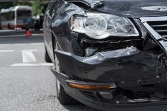 Car_accident Foto de Stock