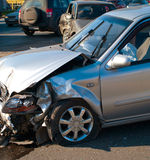 Car accident. The car accident on street of Ufa city Royalty Free Stock Image