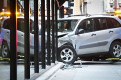 Car accident royalty free stock photo
