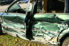 Car accident 2 Stock Photography
