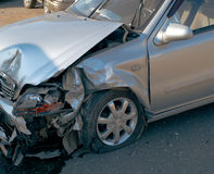 Car accident. The car accident on street of Ufa city Stock Images