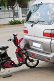 Car accident. On a way Photo taken on: August 14, 2011 royalty free stock photography