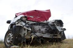 Car after an accident Stock Photos