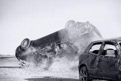 Car accident Stock Image