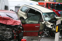 Car accident Stock Photography