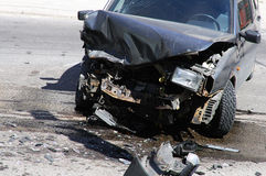 Car accident. In the street Royalty Free Stock Photo