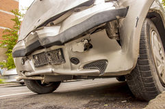 After Car Accident Royalty Free Stock Image